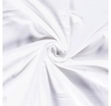 Molton Baumwollstoff deluxe Premium weiss 147 cm breit