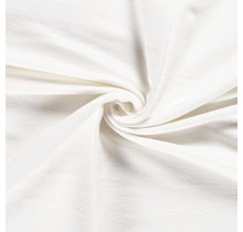Molton Baumwollstoff deluxe Premium wollweiss 90 cm breit