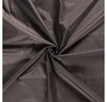 Futterstoff Uni taupe braun 147 cm breit