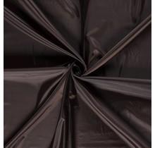Futterstoff Uni dunkelbraun 147 cm breit