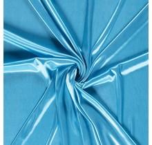Futterstoff Charmeuse aquablau 145 cm breit