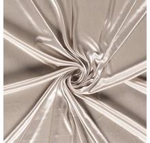 Futterstoff Charmeuse beige 145 cm breit