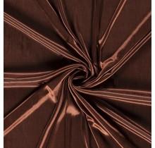 Futterstoff Charmeuse braun 145 cm breit