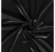Futterstoff Charmeuse schwarz 145 cm breit