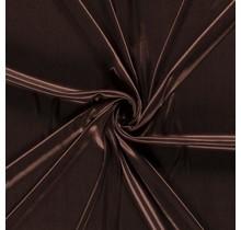 Futterstoff Uni Premium dunkelbraun 145 cm breit