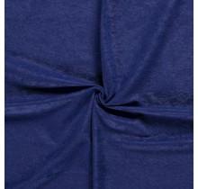 Microvelours Alova Uni königsblau 147 cm breit