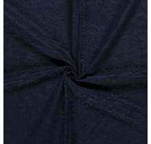 Microvelours Alova Uni navy 147 cm breit