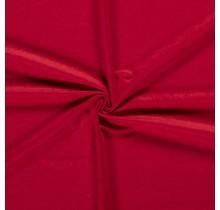 Microvelours Alova Uni rot 147 cm breit