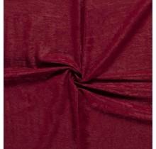Microvelours Alova Uni bordeauxrot 147 cm breit