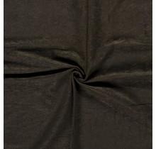 Microvelours Alova Uni khaki grün 147 cm breit