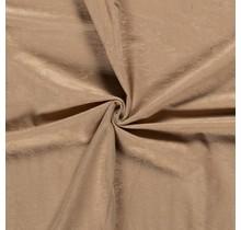 Microvelours Alova Uni beige 147 cm breit