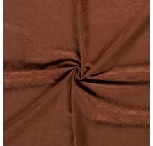 Microvelours Alova Uni rostrot 147 cm breit