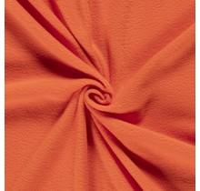 Fleece Antipilling orange 150 cm breit