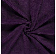 Fleece Antipilling aubergine 150 cm breit