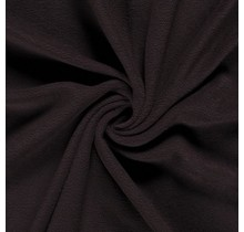 Fleece Antipilling dunkelbraun 150 cm breit