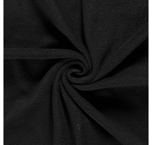 Fleece Antipilling schwarz 150 cm breit