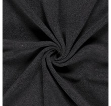 Fleece Antipilling meliert dunkelgrau 150 cm breit