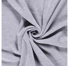 Fleece Antipilling meliert hellgrau 150 cm breit