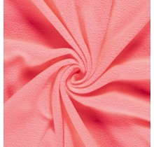 Fleece hot pink neon Farbe 150 cm breit