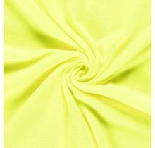Fleece gelb neon Farbe 150 cm breit