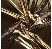 Lamé interlock gold 145 cm breit
