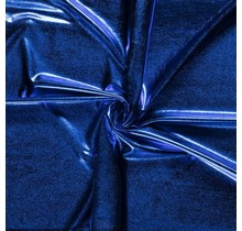 Lamé königsblau 147 cm breit