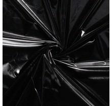 Lamé schwarz 147 cm breit