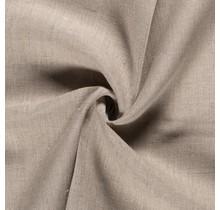 100% Leinen Stoff beige 145 cm breit