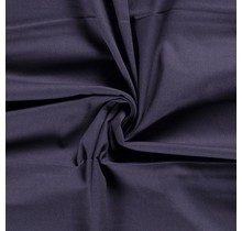 Canvas Stoff stahlblau 144 cm breit