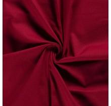 Canvas Stoff dunkelrot 144 cm breit