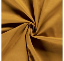 Canvas Stoff ockergelb 144 cm breit
