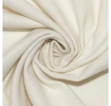 Molton Baumwollstoff creme beide Seiten angeraut 150 cm breit