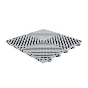 Harde PVC balkon tegels - lichtgrijs - 30x30cm