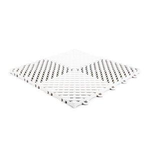 Harde PVC balkontegels - wit - 30x30cm