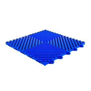 Harde PVC balkon tegels - blauw - 30x30cm