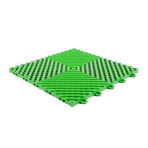 Harde PVC balkon tegels - groen - 30x30cm