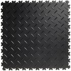 Diamant - Zwart - Dikte 4mm - Recycled - Aanbieding