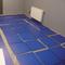 PVC kliktegel | Motief: Hamerslag (textured)| Kleur: Donkergrijs | Dikte 4.5mm