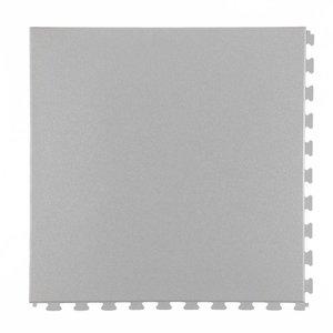 PVC kliktegel - motief: Hamerslag - kleur: Lichtgrijs-dikte 5mm - AANBIEDING