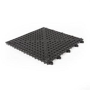 Flexi Soft PVC tegels - zwart - 30x30cm