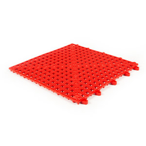 Flexi Soft PVC tegels - rood - 30x30cm