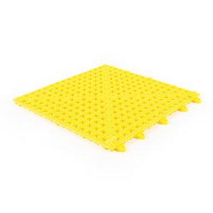 Flexi Soft PVC tegels - geel - 30x30cm