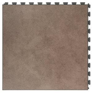 PVC kliktegel |verborgen verbinding - Motief: Design| Kleur: Cocos | Dikte 7.7mm
