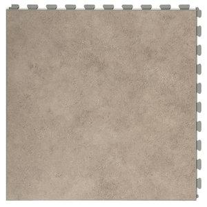 PVC kliktegel |verborgen verbinding - Motief: Design| Kleur: Grey | Dikte 7.7mm