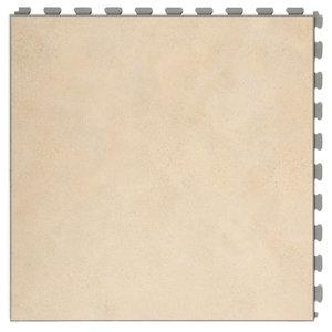 PVC kliktegel |verborgen verbinding - Motief: Design| Kleur: Sand | Dikte 7.7mm
