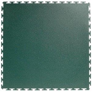 PVC kliktegel |Motief: Hamerslag (textured)| Kleur: Groen | Dikte 4.5mm - AANBIEDING