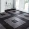 PVC kliktegel | Motief: Leather | Kleur: Zwart | Dikte 5,5mm