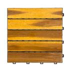 Harde PVC balkon tegels - wood - beige-30x30cm