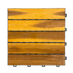 Harde PVC balkontegels - wood - beige- 30x30cm