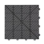 Harde PVC open kliktegel Berlijn - grijs - 30x30cm